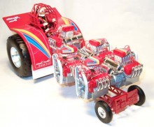 1/16 Martin Bros Unlimited Pulling Tractor