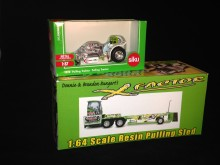 1/64 Green Monster puller and Bungart sled combo